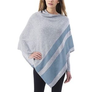 Celeste wool/cashmere blend poncho new one size